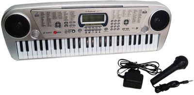 GME 54 Key Electronic Piano With lcd display,Stereo, Adapter And Mic