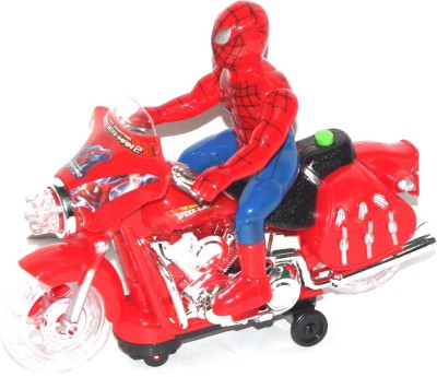 Alarafaat Spider Man bike(Red)