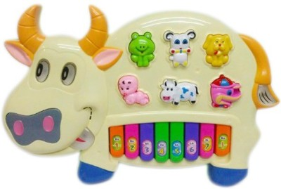 Taaza Garam Musical Educational Toy Cow Piano
