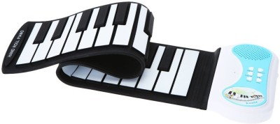 Saffire 37-Keys Roll up Soft Silicone Flexible Electronic Digital Music Keyboard Piano with Loud Speaker