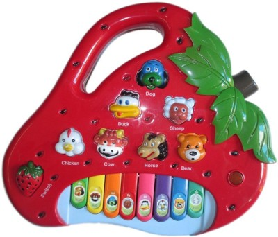 Turban Toys Strawberry Piano With Animal Sounds