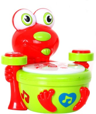 Babeezworld Babeezworld Popular Frog Drum(Multicolor)