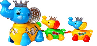 Scrazy Cute Elephant Musical Toy For Kids
