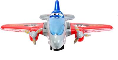 Planet of Toys Bump & Go Aeroplane