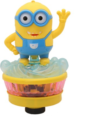 Babytintin Despicable ME 3 Minion type with light and music with rotatational function