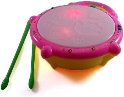 Turban Toys Musical Flash Drum For kid,s
