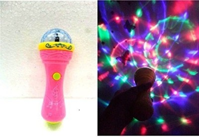 Playking D Lights Handheld Mike Musical Toy