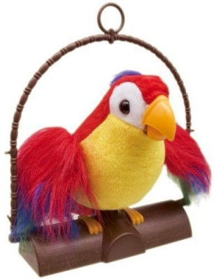 Alarafaat Talking parrot battery toy(Multicolor)