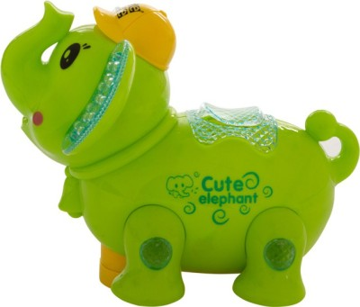 Mee Mee Cute Roaming Elephant with Image Projector