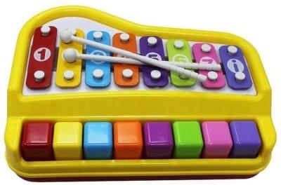 Shopaholic Awesome Piano Shape Multicolor Xylophone - 1227