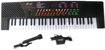 A R ENTERPRISES MUSICAL PIANO WITH MIC AND ADAPTER