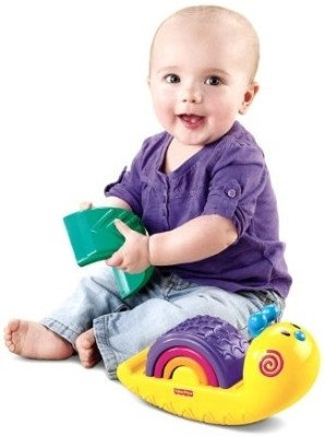 Fisher-Price Rainbow Snail Stacker
