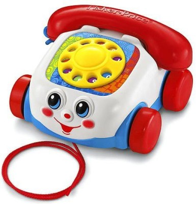 Bright Starts Fisher-Price Brilliant Basics Chatter Telephone