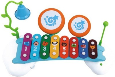i-gadgets Huile Baby Xylophone with Drum