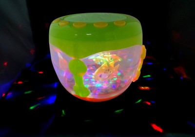 Wish Kart Battery Operated Drum with music and flash (Rotating Lamp Light with Musical Instrument Sounds)(Multicolor)