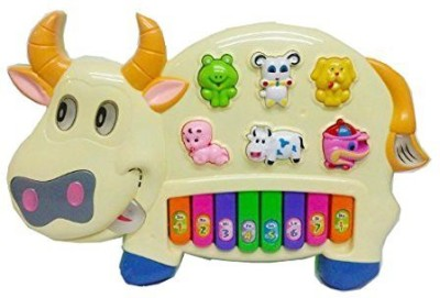 Babeez World Musical COW PIANO