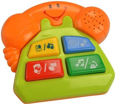 MeeMee Four Musical Playthings-telephone