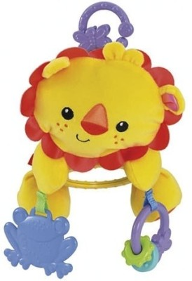 Fisher-Price Lion Stroller Plush
