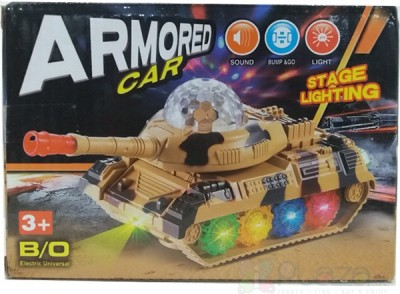 DSC Armored Army Tank