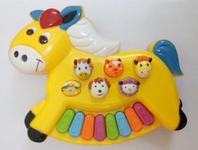 ToysBuggy Musical Horse Cartoon Animal Paradise Piano