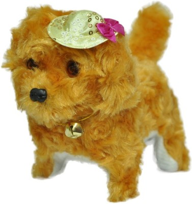 Turban Toys Musical Dog Walk And Bark
