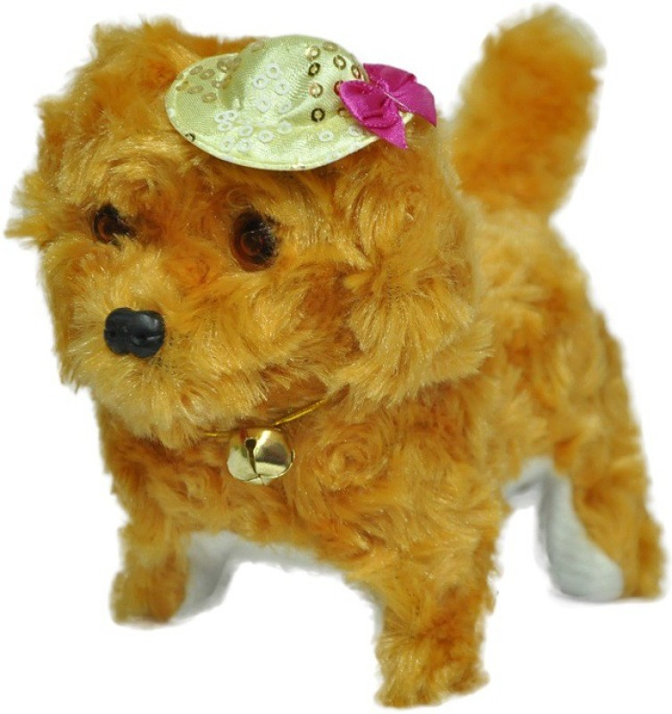 Turban Toys Musical Dog Walk And Bark(Multicolor)
