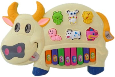 Gift World Piano Music Pianism Funny Musical Cow Piano