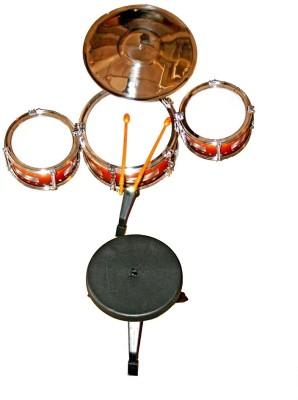 FairToys Jazz Drum Set 7 Pcs With Stool
