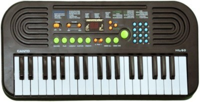 Dinoimpex Dino 37 Keys Electronic Piano Or Keyboard With Mike & Power Adopter(Grey)