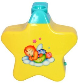 Flying Toyszer Little Angel Musical Projector(Yellow)
