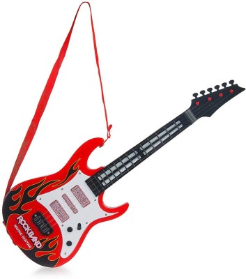 New Pinch Battery Operated Musical Guitar With Light And Sound