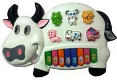Turban Toys Musical Cow piano keyboard