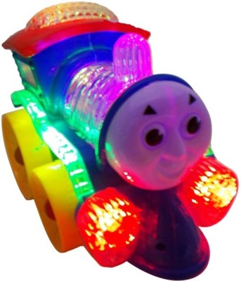Zeemon Musical Flashing Lights Locomotive Engine Toy