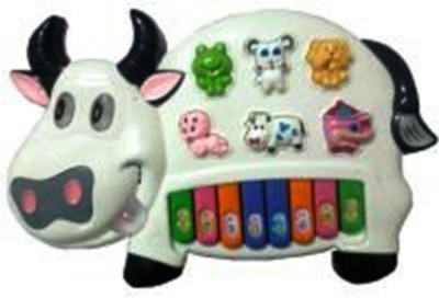 Dinoimpex Musical Cow Piano Keyboard