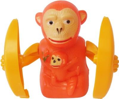 Abhika Studio Jumping Monkey Toy
