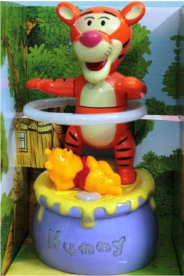 Turban Toys Battery Operated Tiger Hula Hoop with Winnie