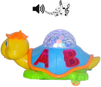 Unica 3d Light Effect Revolving Turtle With Multi Color Lights And Sound Yj388-16