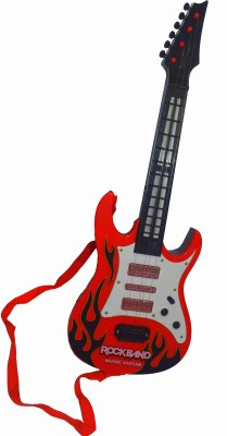 Shop4everything Rockband Guitar (Light And Sound)Realistic Features.