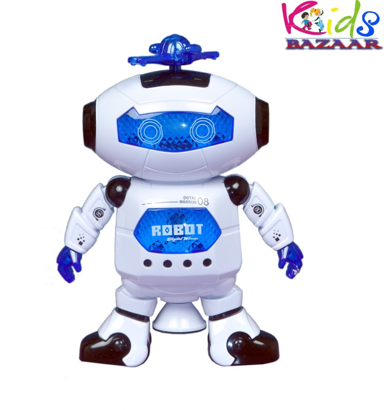 Kids Bazaar Dancing Robot LED Light & music 360 degree...
