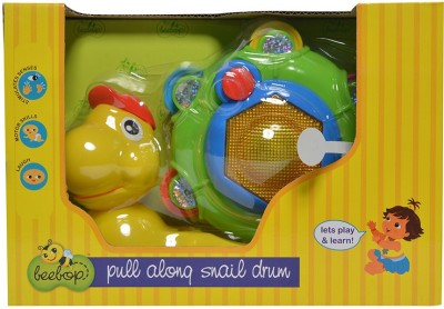 Beebop Pull Along Snail Drum