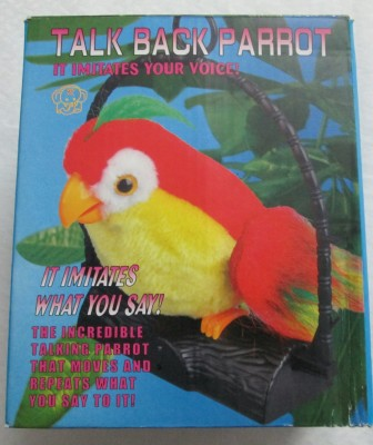 B.M.R. Trading Co. Talk Back Parrot