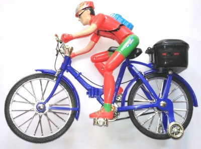 AS Battery Operated Musical Bicycle Toy For Kids