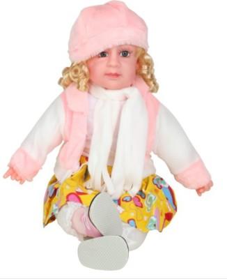 Rahul Toys Musical Poem Doll For Kids