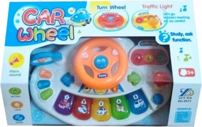 Turban Toys Funny Musical Car wheel with Lights