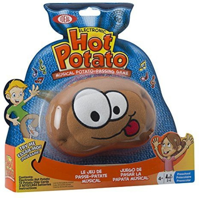Ideal Hot Potato Electronic Musical Passing Game(Maroon)