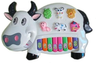 A R ENTERPRISES Multicolored Cow Musical Piano