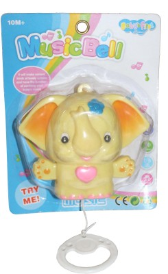Scrazy Attractive Baby's First Music Bell Toy