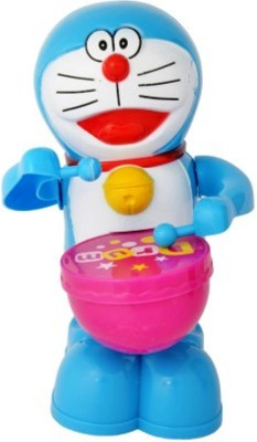 Turban Toys Musical Drummer- Battery Operated- Play Drums With Music & Light