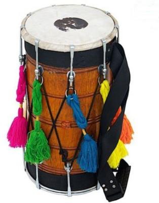 SG Musical Natural Punjabi Bhangra Dhol