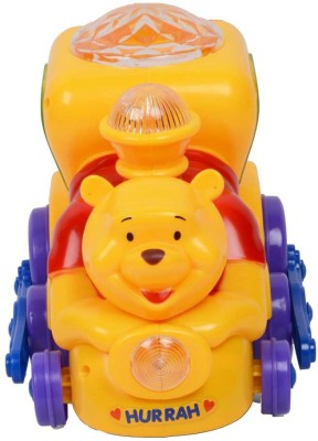 A M ENTERPRISES Musical Pooh Engine with Lighting Effects